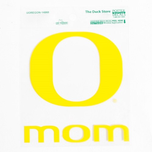 O Mom Decal